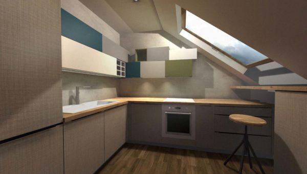 meble na wymiar Bydgoszcz i kuchnie na poddaszu Bydgoszcz wykonuje firma Smart Design Sara Tokarczyk zajmuję się również aranżacja wnętrz bydgoszcz