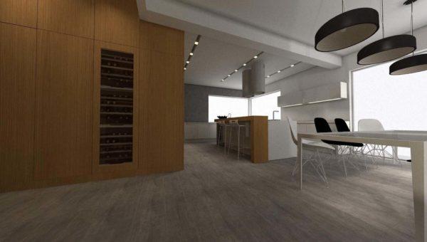 nowoczesne kuchnie na wymiar, szafy na wymiar, garderoby to specjalność architekt wnętrz Sary Tokarczyk