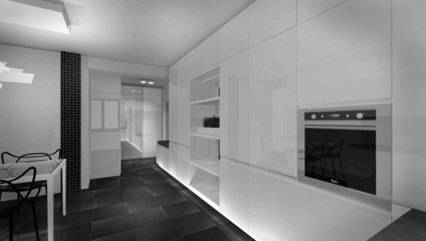 Białe lakierowane fronty nowoczesnych kuchni pod wymiar Bydgoszcz wykonuje firma Smart Design Sara Tokarczyk