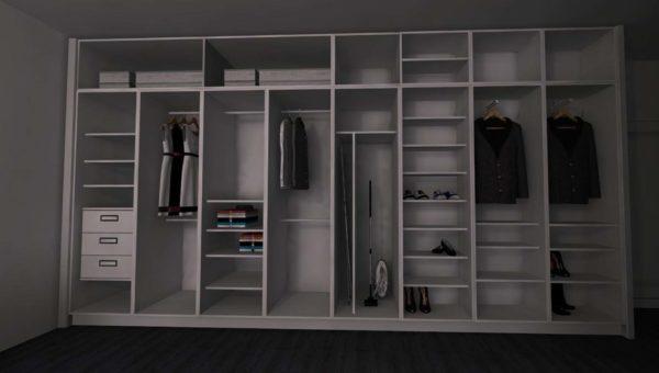 Garderobę na zamówienie wykonała firma Smart Design Sara Tokarczyk z Bydgoszczy.