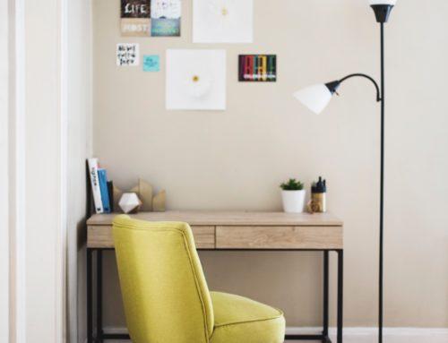 Organizacja domowego biura na małej przestrzeni