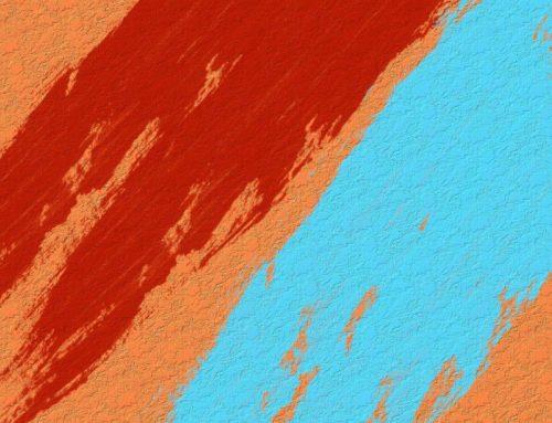 Magia kolorów – farba strukturalna