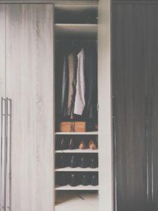 wnętrze szafy smart design