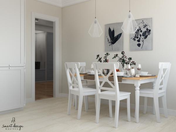 biała kuchnia w stylu prowansalskim