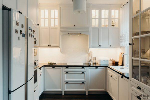 kuchnia klasyczna drewniana na zamówienie smart design