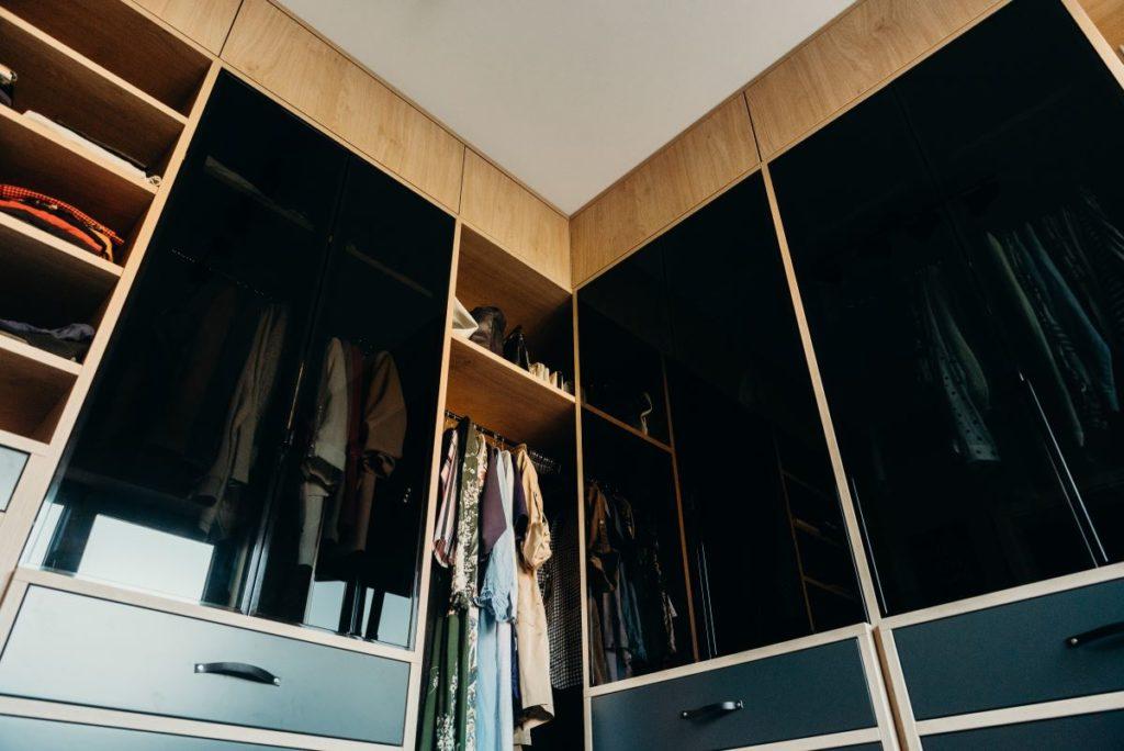 Przykładowa garderoba na wymiar - firma Smart Design
