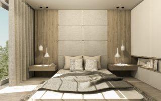 projekt sypialni od smart design bydgoszcz