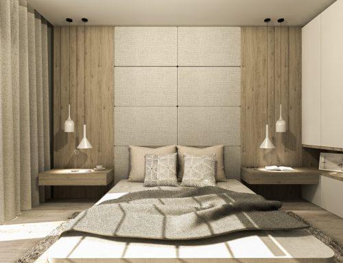 Na przekór utartym schematom, czyli pomysłowe łóżko na środku sypialni