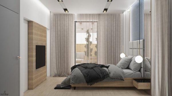 projekt sypialni bydgoszcz smart design