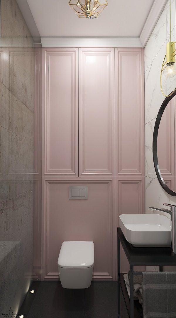 projekt toalety smart design poznań