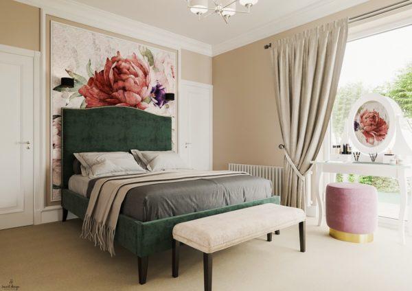 projekt sypialni smart design sara tokarczyk toruń