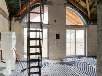 początkowy etap prac - dom w stylu amerykańskim od smart design