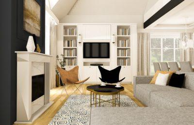 projekt domu w stylu amerykańskim od smart design