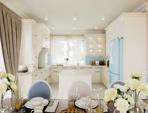 Urokliwe wnętrza inspirowane stylem prowansalskim