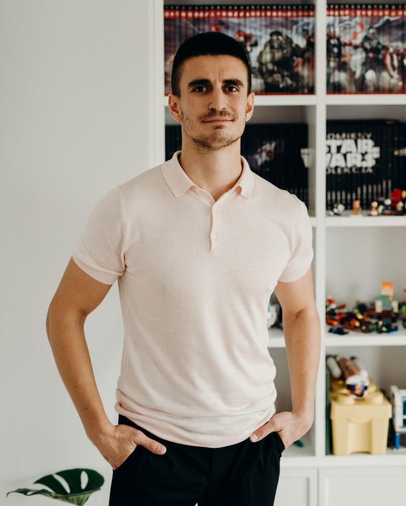 Wojciech Poziomka - dyrektor kreatywny biura projektowego Smart Design